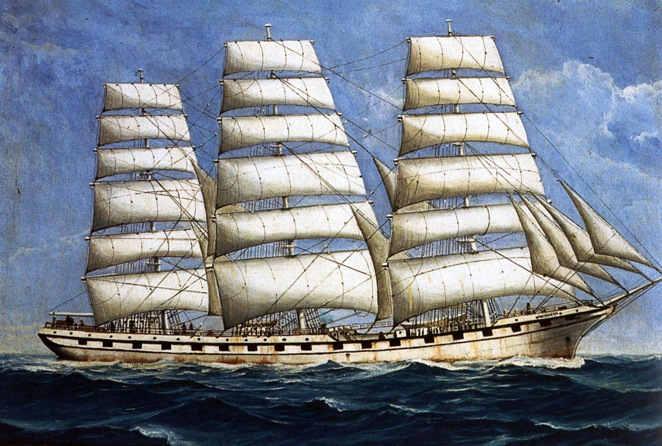 bateau 3 mats